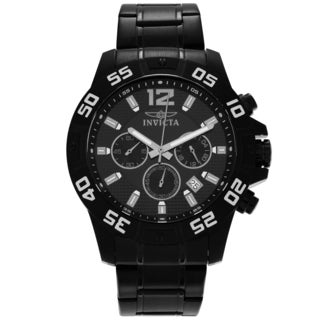 Invicta Men's 1505 Specialty Quartz Chronograph Black Dial Watch