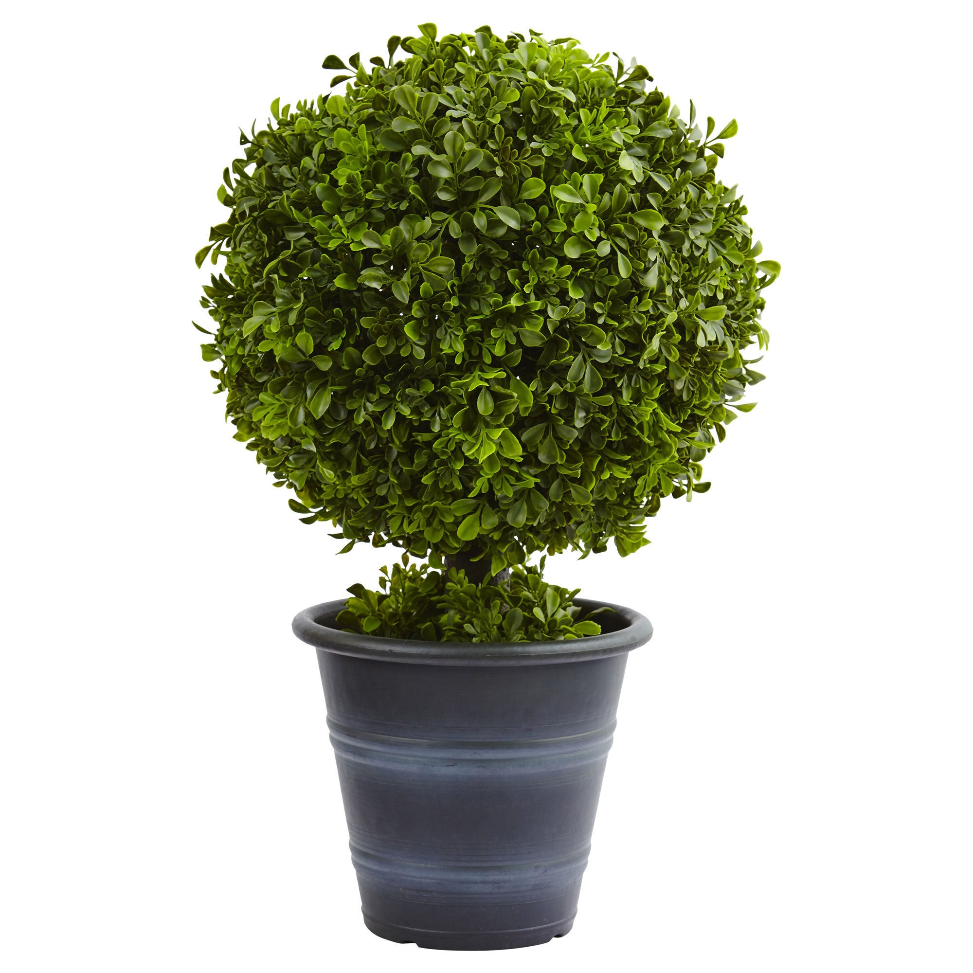 Nearly Natural 23-inch Boxwood Ball Topiary (Silk Plants)...