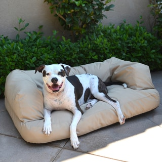 Integrity Bedding  Indoor/Outdoor Chew Resistant 6-inch Memory Foam Dog Couch and Bed
