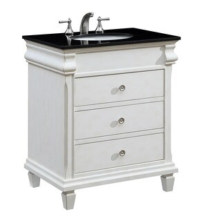 "30"" Norfolk Single Bathroom Vanity Set in Antique White"