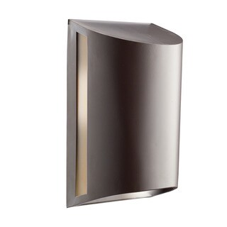Kichler Lighting Contemporary 1-light Architectural Bronze Outdoor Fluorescent Wall Sconce