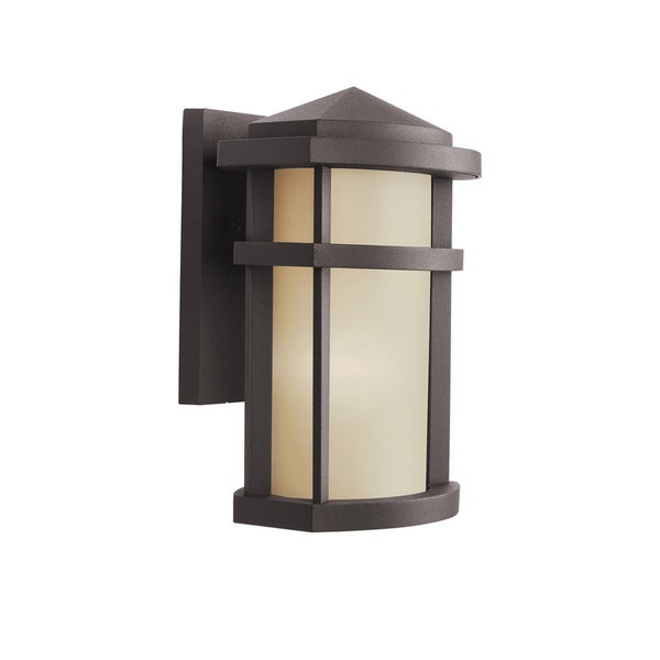 Kichler Lighting Lantana Collection 1 Light Architectural Bronze Outdoor Wall Sconce On Free Shipping Today 13449534