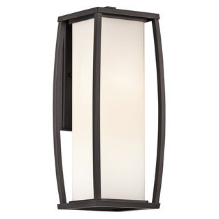 Kichler Lighting Bowen Collection 2-light Architectural Bronze Outdoor Wall Sconce