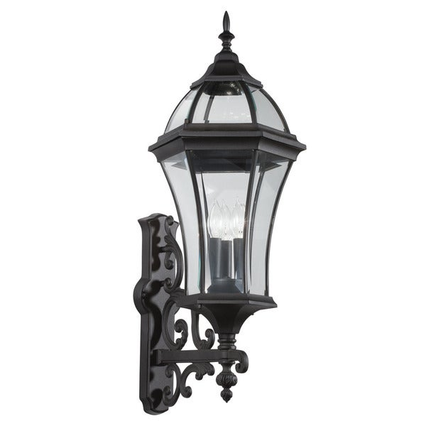 Shop Kichler Lighting Townhouse Collection 3-light Black