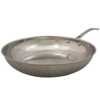 David Burke Splendor Series Heavy Gauge Stainless Steel 11 inch Fry Pan|https://ak1.ostkcdn.com/images/products/13449538/P20139631.jpg?impolicy=medium