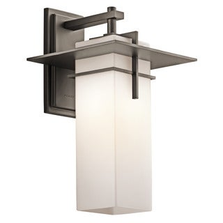 Kichler Lighting Caterham Collection 1-light Olde Bronze Outdoor Wall Sconce