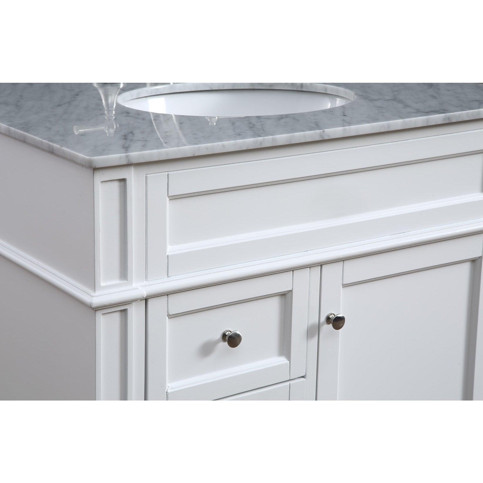 32 Madison Single Bathroom Vanity Set In White Overstock 13449544