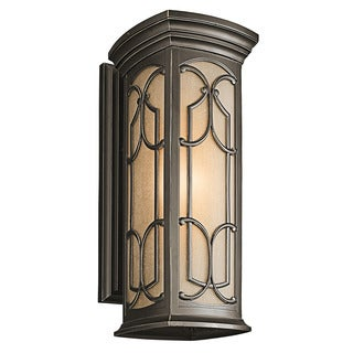 Kichler Lighting Franceasi Collection 1-light Olde Bronze Outdoor Wall Sconce
