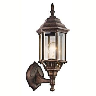 Kichler Lighting Chesapeake Collection 1-light Tannery Bronze Outdoor Wall Lantern