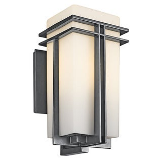 Kichler Lighting Tremillo Collection 1-light Black Outdoor Wall Sconce