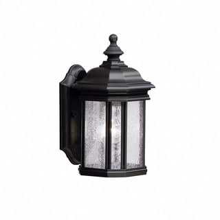 Kichler Lighting Kirkwood Collection 1-light Black Outdoor Wall Sconce