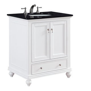 "30"" Arik Single Bathroom Vanity Set in White"