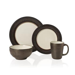Pfaltzgraff Everyday Gourmet B. Mikasa Avery 16-piece Stoneware Dinnerware Set|https://ak1.ostkcdn.com/images/products/13449608/P20139801.jpg?impolicy=medium