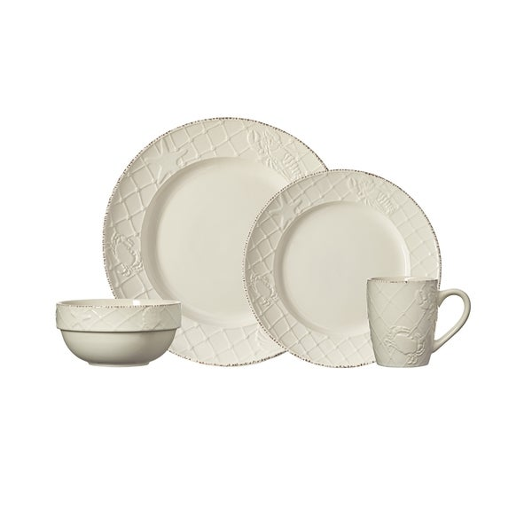 Pfaltzgraff Northport 16-piece Stoneware Dinnerware Set  sc 1 st  Overstock.com & Pfaltzgraff Northport 16-piece Stoneware Dinnerware Set - Free ...