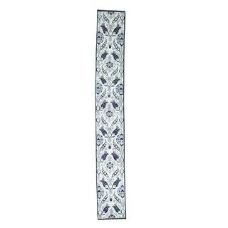 Handmade Arts And Crafts William Morris Design Runner Rug (2'6x18'2)