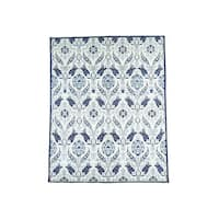 "Hand-Knotted Arts And Crafts William Morris Design Rug (8'x10'1"")"