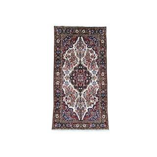"Handmade Persian Bakhtiari Full Pile Oriental Runner Rug (5'x9'6"")"