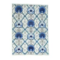 """Hand-Knotted Arts And Crafts Design Fine Wool Rug (10'x13'9"""")"""