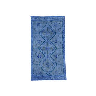 Hand-Knotted Overdyed Persian Shiraz Rug (3'5x6'4)