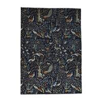"Hand-Knotted Birds of Paradise Tree of Life Rug (10'x14'1"")"