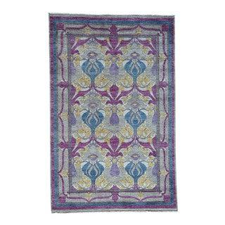 Arts And Crafts William Morris Design Fine Wool Carpet