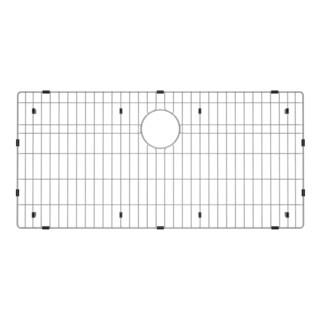 Exclusive Heritage 33 x 16-inch Premium Grade T-304 Stainless Steel Kitchen Sink Bottom Grid Basin Rack (As Is Item)