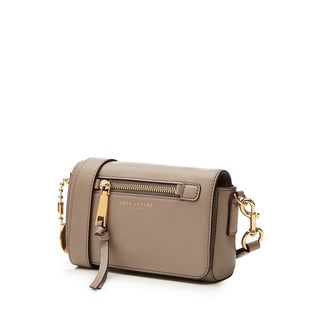Marc Jacobs Recruit Mink Beige Leather Crossbody Bag