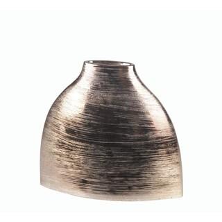 Privilege Large Silver Ceramic Vase