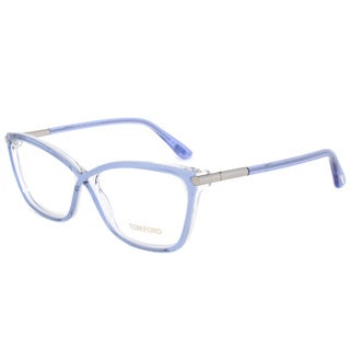 Tom Ford FT5375 086 Frames Blue Crystal 53mm Women's Eyeglass