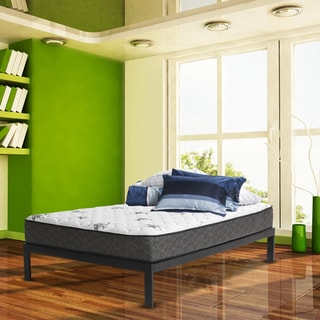 Wolf Twilight Plush Full Size Mattress and Platform Base