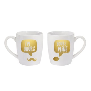 American Atelier You're Mine/I'm Yours Mugs (Set of 2)