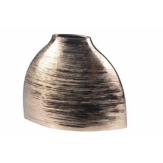 Privilege Silver-tone Ceramic Small Vase