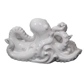 Privilege White Ceramic Octopus