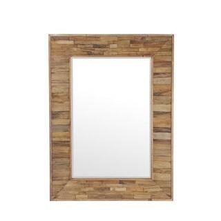 Privilege Brown Organic Wood Mirror