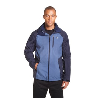 Champion Men's Big and Tall Sweater Fleece 3-in-1 Systems Jacket