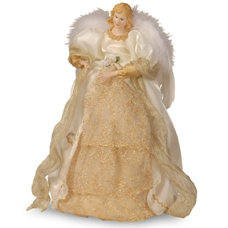 Ivory Angel 16-inch Figurine (Option: Ivory)