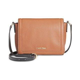 Calvin Klein Key Items Classic Pebble Crossbody Handbag|https://ak1.ostkcdn.com/images/products/13451039/P20140940.jpg?impolicy=medium