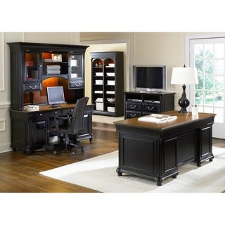 St Ives Chocolate and Cherry Executive Desk