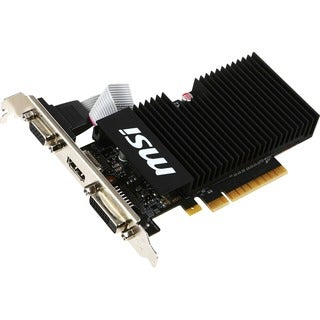 MSI GT 710 1GD3H LPV1 GeForce GT 710 Graphic Card - 954 MHz Core - 1