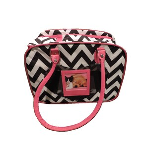 L C Puppy Ro Trendy Chevron Pet Carrier