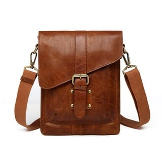 e0528031adf2 Vicenzo Leather Raiders Liverpool Leather Crossbody Messenger Bag
