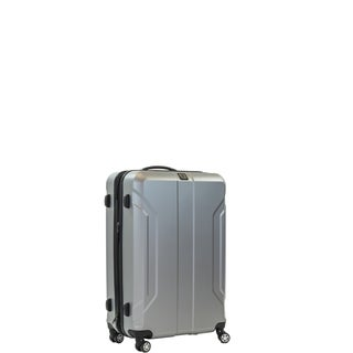 Ful Payload 21-inch Upright Hard Case, Silver Spinner Rolling Luggage Suitcase