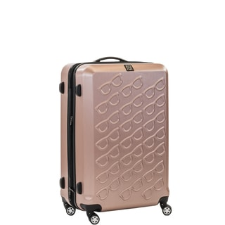 Ful Sunglasses 21-inch Hard Case, Upright, Gold Spinner Rolling Luggage Suitcase