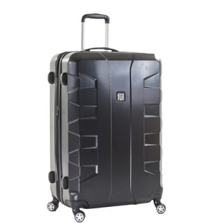 Ful Laguna 29-inch Upright Hard Case, Black Spinner Rolling Luggage Suitcase