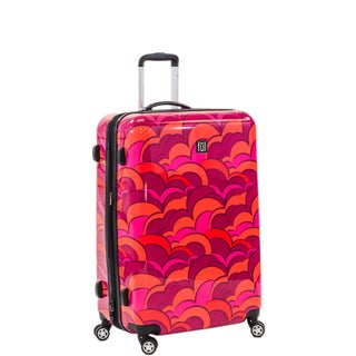 Ful Sunset 24-inch Fashion Hardside Spinner Upright Suitcase