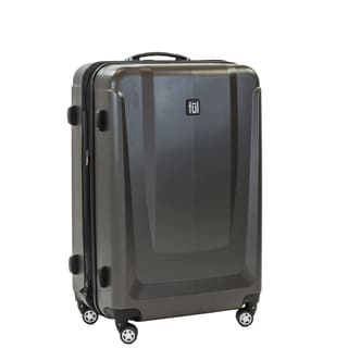 Ful Load Rider 29-inch Upright Aluminum Hard Case, Charcoal Spinner Rolling Luggage Suitcase