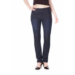 Bluberry Denim Women's Colette Rinse Blue Wash Slim Leg Jeans