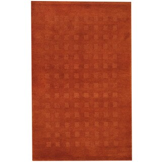 Herat Oriental Indo Hand-knotted Tibetan Wool Rug (3'7 x 5'8)