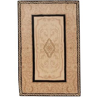 Herat Oriental Indo Hand-knotted Nepali TIbetan Wool Rug (3'6 x 5'5)
