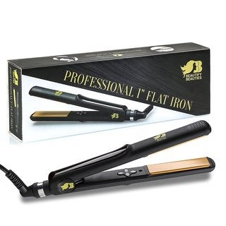 Beautify Beauties Professional 1-inch Ceramic Tourmaline Flat Iron